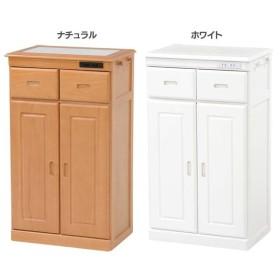キッチンカウンター 棚 カウンター タイル 作業台 棚 MUD-6132SNA・WH 萩原 (代引不可)(TD)