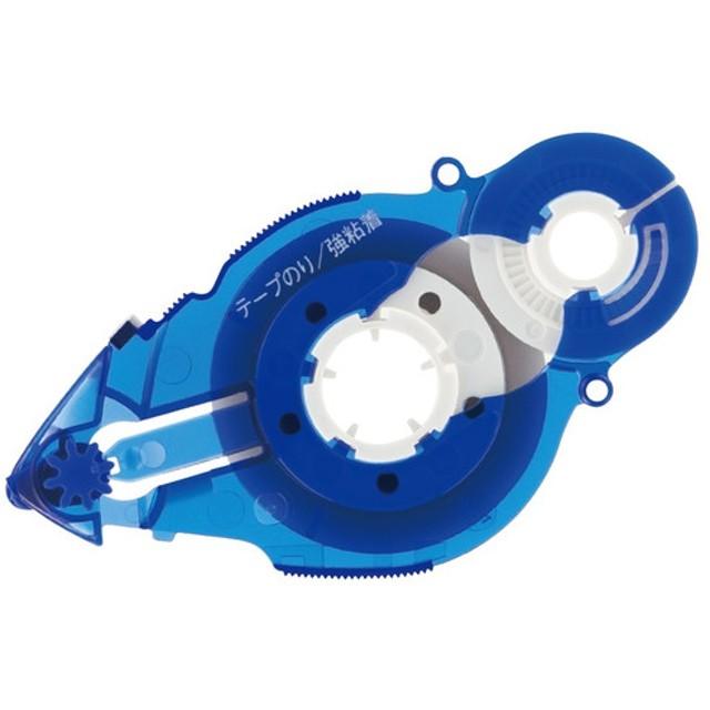 プラス(PLUS) テープのり リフィル スピンエコ 交換テープ 8.4mm幅 ブルー TG-611BC 37-587