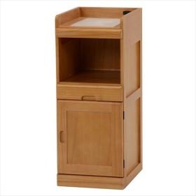 キッチンカウンター キッチン収納 キッチンラック キッチンワゴン 木製 おしゃれ サイドチェスト キャスター付き コンパクトキッチンワゴン MW-6570NA 代引不可