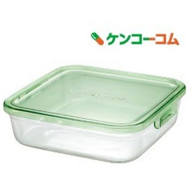 イワキ パック&レンジ グリーン 角型 1.2L K3248N-G ( 1コ入 )/ イワキ(iwaki)
