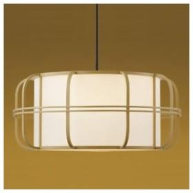 コイズミ照明 LED和風ペンダントライト 白熱球60W相当 電球色 口金E26 引掛シーリング付 白木色 民芸シリーズ AP38925L