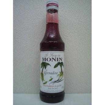 [ミニサイズ] モナン グレナディン シロップ 小瓶 250ml