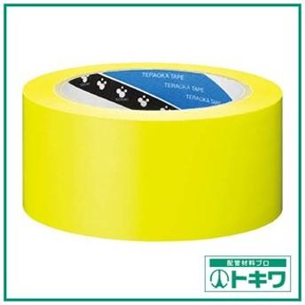 TERAOKA ラインテープ NO.340 黄 50mmX20M 340 ( 340Y50X20 )