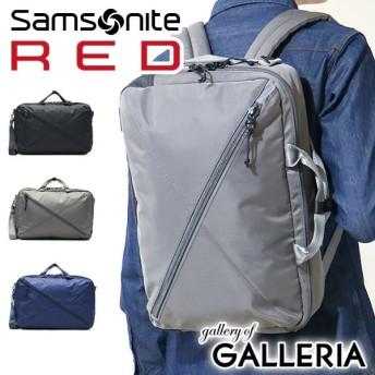 2/15限定★最大44%獲得 日本正規品 Samsonite RED サムソナイトレッド BIAS JACK 2 3WAY ブリーフケース ビジネスリュック A4 89136