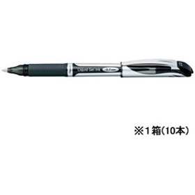 ぺんてる/エナージェル 細字0.7mm 黒 10本/BL57-A