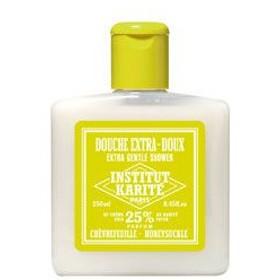 INSTITUT KARITE インスティテュート カリテ 25% Extra Gentle Shower ジェントル シャワージェル 250ml Honeysuckle ハニーサックル 【香水 フレグランス】