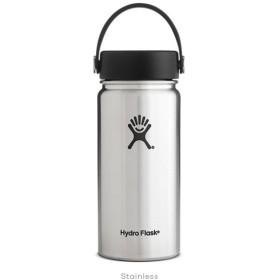 ハイドロフラスク Hydro Flask 16 oz Wide Mouth Stainless 16オンス 473ml 広口 ワイドマウス ボトル 水筒