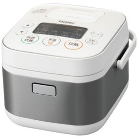 ハイアール マイコン式炊飯器 一人暮らし 3合炊き ホワイト JJ-M31A-W