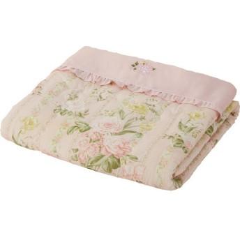レヴェーユ シルク混肌掛けふとん ピンク 寝装品 布団 ケット 肌布団 CH-16657 代引不可