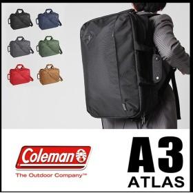 本日最大P27%|【在庫限り】コールマン ビジネスバッグ 3WAY ビジネス リュック メンズ ブランド アトラス A3 Coleman ATLAS