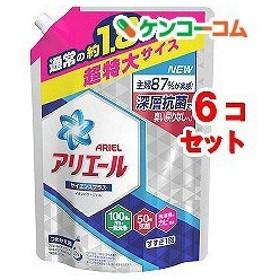 アリエール 洗濯洗剤 液体 イオンパワージェル 詰め替え 超特大 ( 1.26kg6コセット )/ アリエール イオンパワージェル