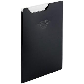 LIHIT LAB.<リヒトラブ> AQUA DROPs クリップファイル A5 黒 F5065-24