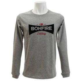 ボンファイア(Bonfire) 長袖Tシャツ SIGNBOARD L/S GRY (Men's)