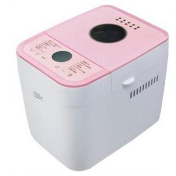 HI-ROSE (ハイローズ) 1斤用ホームベーカリー HR-B120P ピンク レシピブック付き 保証期間:1年間