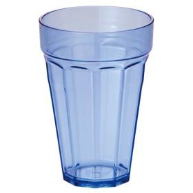 ルーセントグラス プラスチック タンブラー 350ml ブルー 1501