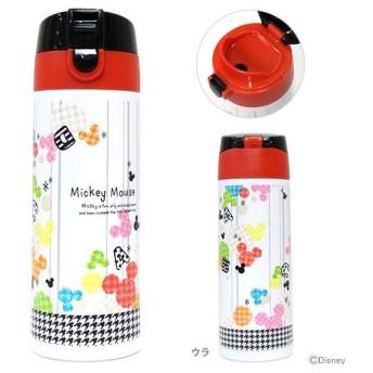 ミッキーマウス ロック付ワンプッシュステンレスマグボトル <水筒> 350ml ジョイフルMK柄 SDP3