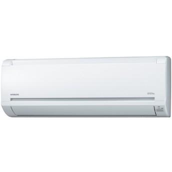 【送料無料】【代引決済不可】HITACHI 日立 白くまくんエアコン RAS-AJ22E-W(クリアホワイト)主に6畳用