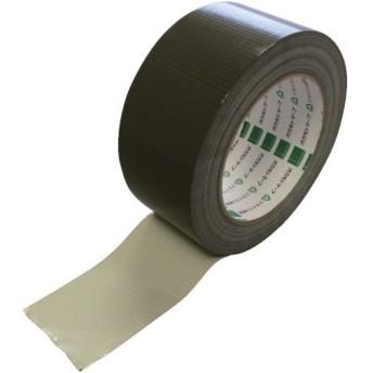 オカモト 現場テープ 50×25 オリーブ (1巻) 品番:440-O