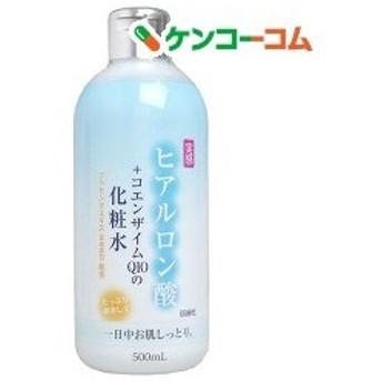 ヒアルロン酸+コエンザイムQ10 化粧水 ( 500ml )