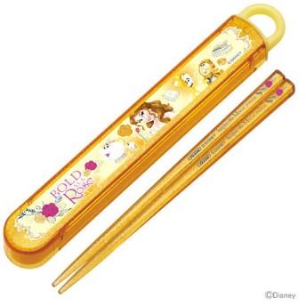 ディズニー・プリンセス 食洗機対応スライド箸&箸箱セット ベル17柄 abs2am [M便 1/1]