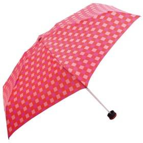 ハス HUS. Smart Duo OG/PK check 折りたたみ傘 スマートデュオ UVカット 晴雨兼用 紫外線カット ユニセックス メンズ レディース