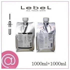 (セット)Lebel ルベル イオ セラム クレンジング 1000ml レフィル 詰替用 & クリーム 1000ml レフィル 詰替用