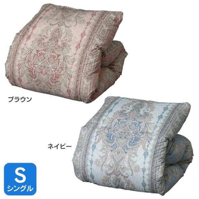 西川 羽毛 布団 シングル ダウン90% 掛け布団 羽毛ふとん 軽い あたたかい1.1kg S SNK974SL (D)