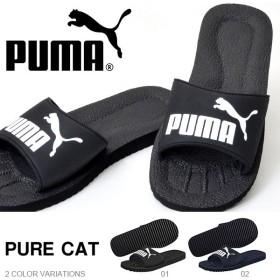 得割30 スポーツサンダル プーマ PUMA メンズ ピュアキャット シャワーサンダル スポーツ サンダル シューズ 靴 ジム プール 海水浴 海