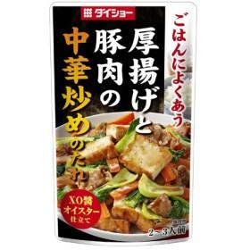 ダイショー 厚揚げと豚肉の中華炒めのたれ 70g