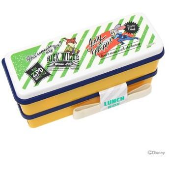 ズートピア<ZOOTOPIA> シリコン製シールブタ 2段ランチボックス <お弁当箱> ハシ・仕切付 sslw6