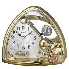 リズム時計工業 置き時計 「ファンタジーランド」 4SG762SR18