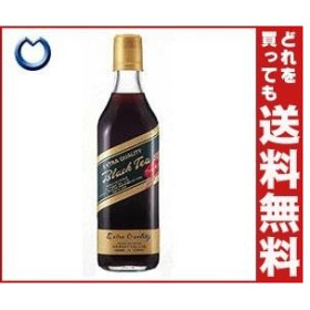 【送料無料】ジーエスフード GS ブラックティーアールグレイ 500ml瓶×12本入