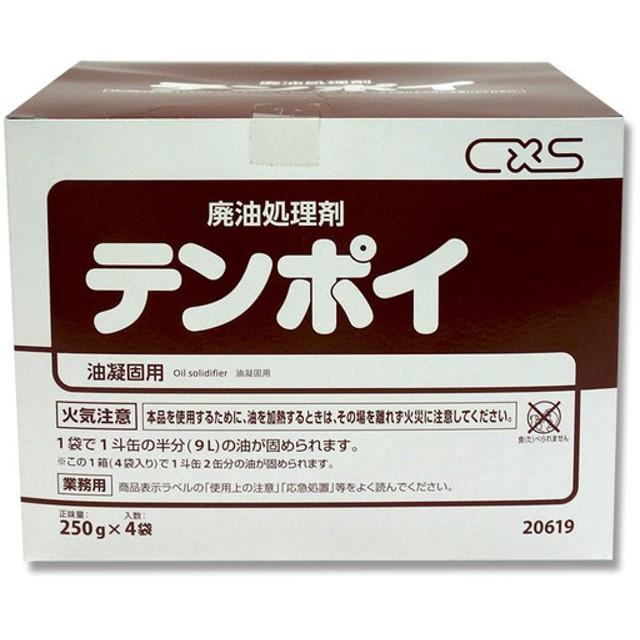 廃油処理剤 テンポイ 1kg (250g×4袋)