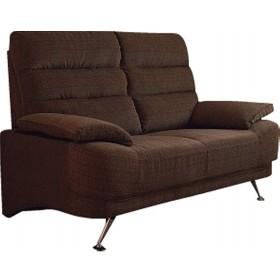 コイルスプリングハイバックソファ2人掛け ベージュ 木製品 家具 ソファ 座椅子 二人掛け用 S-1949 代引不可