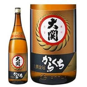 日本酒 金冠 大関 辛口 上撰 1.8L