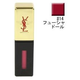 イヴサンローラン YVES SAINT LAURENT ルージュ ピュールクチュール ヴェルニ #14 フューシャドール 6ml 化粧品 コスメ
