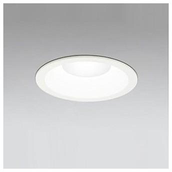 オーデリック LEDダウンライト M形 埋込穴φ125 白熱灯100Wクラス 拡散配光 連続調光 本体色:オフホワイト 電球色タイプ 2700K XD258257