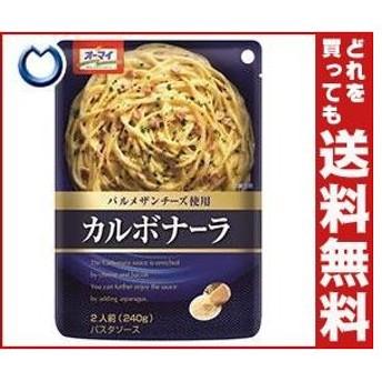 送料無料 日本製粉 オーマイ カルボナーラ 240g×24個入
