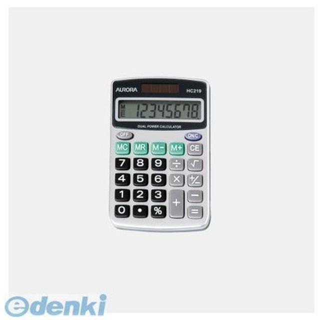 オーロラ  HC219 電卓 ハンディタイプ
