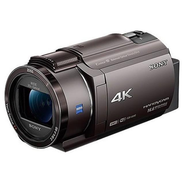 ソニー デジタル4Kビデオカメラレコーダー Handycam AX40 ブロンズブラウン FDR-AX40/TI 代引不可
