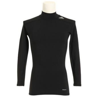 アディダス(adidas) テックフィット WARM ロングスリーブモックシャツ LOZ74-AI3357 (Men's)
