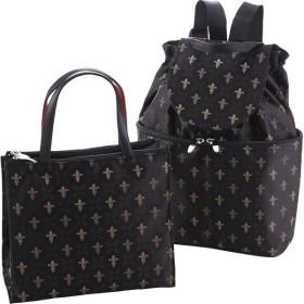 日本製 ジャガード手提バッグ リュックセット 日本製ジャガード カバン バッグカジュアル RLU5001/10000 代引不可