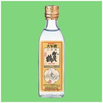 【実は・・・頻繁に宮内庁に納品されている!】 賀茂鶴 特製 ゴールド賀茂鶴 大吟醸 純金箔入り 角瓶 180ml(3)「皇室献上酒」「角瓶タイプ」