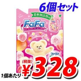 ファーファ 柔軟剤ピンク 特大 詰め替え用 2L×6個
