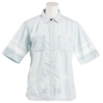 クリフメイヤー(KRIFF MAYER) ワークシャツ 1714031L-1-LBLU (Lady's)