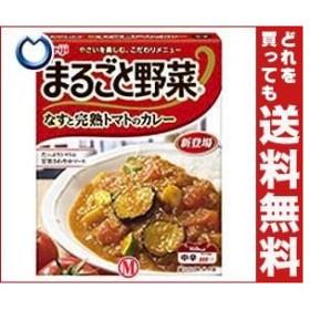 【送料無料】明治 まるごと野菜 なすと完熟トマトのカレー 190g×30個入