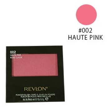 レブロン パウダー ブラッシュ #002 HAUTE PINK (チーク) 5g