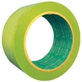 スリオン 床養生用フロアテープ50mm×25m グリーン (1巻) 品番:344002-GR-00-50X25