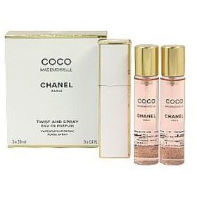 シャネル CHANEL ココ マドモワゼル ツイスト EDP・SP 20ml×3 香水 フレグランス COCO MADEMOISELLE TWIST AND