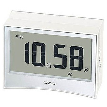 CASIO 電波目覚まし時計 DQD‐S01J‐7JF (ホワイト)